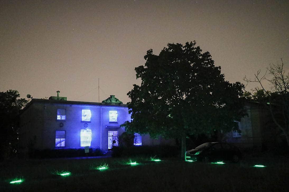 La nuit vert 2018, dans le cadre du festival PanOramas.